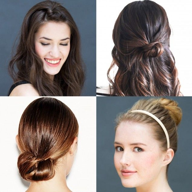 Easy and Beautiful Five-Minute #Hairstyles  http://blog.pampadour.com/10-cool-and-beautiful-five-minute-hairstyles/