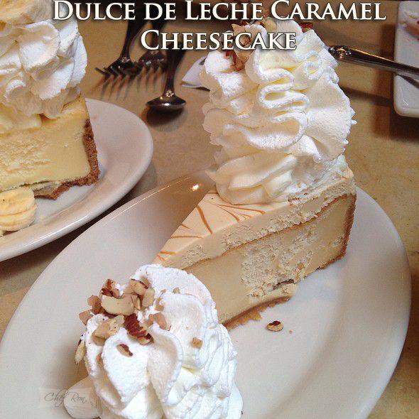 Dulce de Leche Caramel Cheesecake