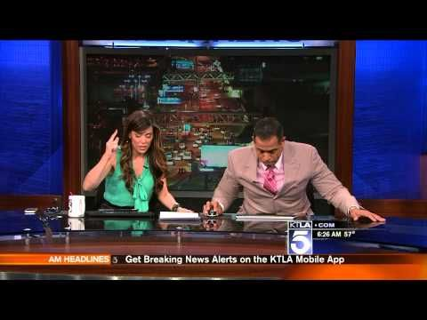 """""""Earthquake! We're having an earthquake!"""" (VIDEO)  Of course, earthquakes in Los Angeles when I arrive :-/! It was a shocker to say the least..."""