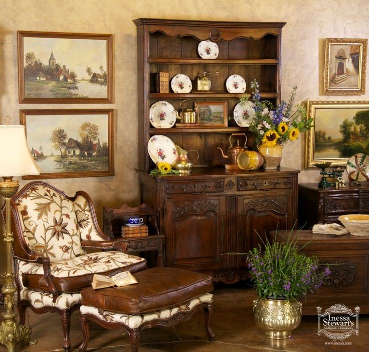 70 best inessa stewart 39 s designs images on pinterest antique furniture antique shops and. Black Bedroom Furniture Sets. Home Design Ideas