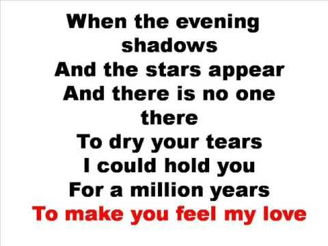 To make you feel my love. Fav song from Adele's first album, still one of the top played on my iPod