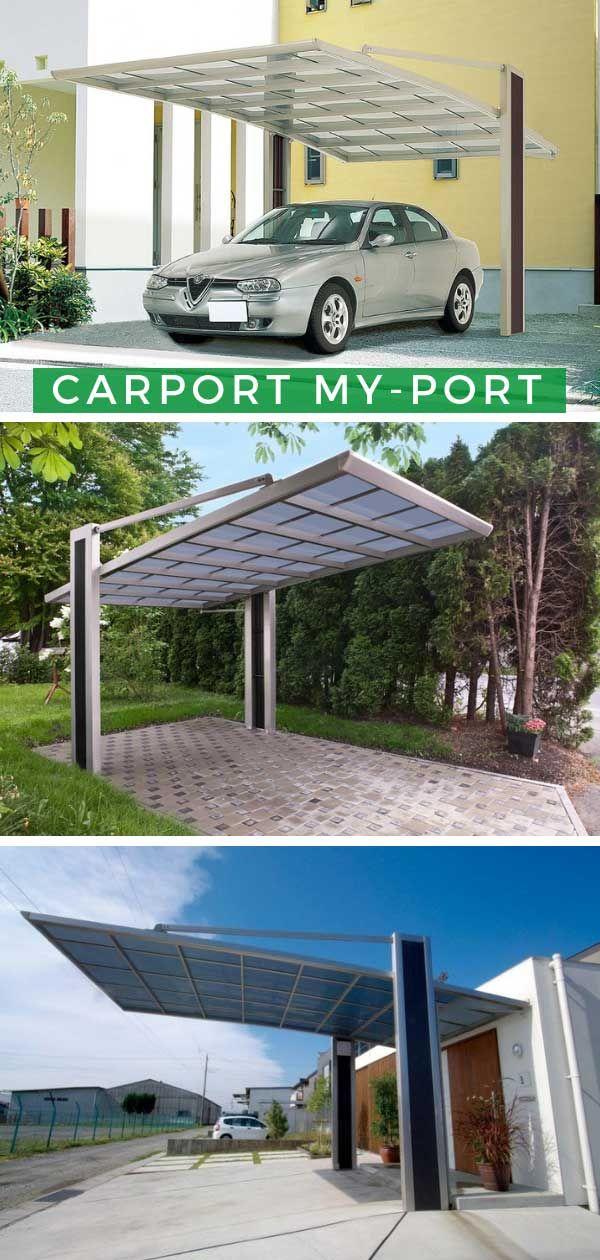 Ximax Design-Carport My-Port 150 Standard in 2019 | Carports ...