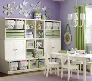 Une chambre enfant bien rangée