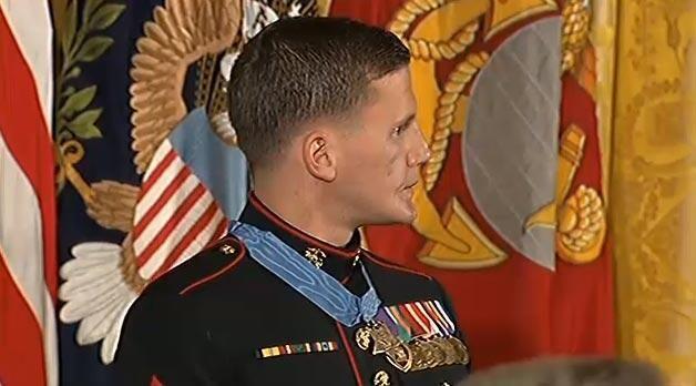 South Carolina's newest #MedalOfHonor recipient, #KyleCarpenter