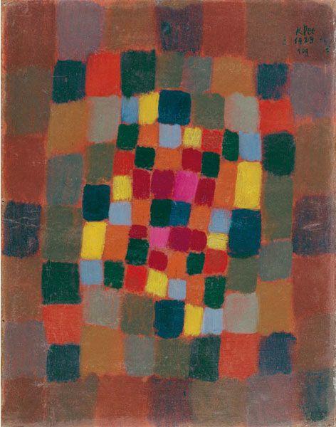 Parterre multicolore