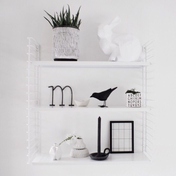 White Tomado shelf