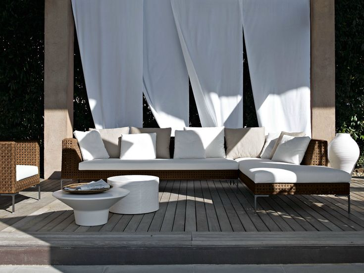 CHARLES OUTDOOR Corner Sofa By Bu0026B Italia Outdoor, A Brand Of Bu0026B Italia  Spa Design