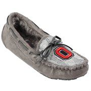 Ohio State Buckeyes Women's Sweater Vamp Moccasins – Gray It's Saturday in real life, but it's still Black Friday at Fanatics! Save 25% + free shipping on orders over $50! Use code: BLKFRI