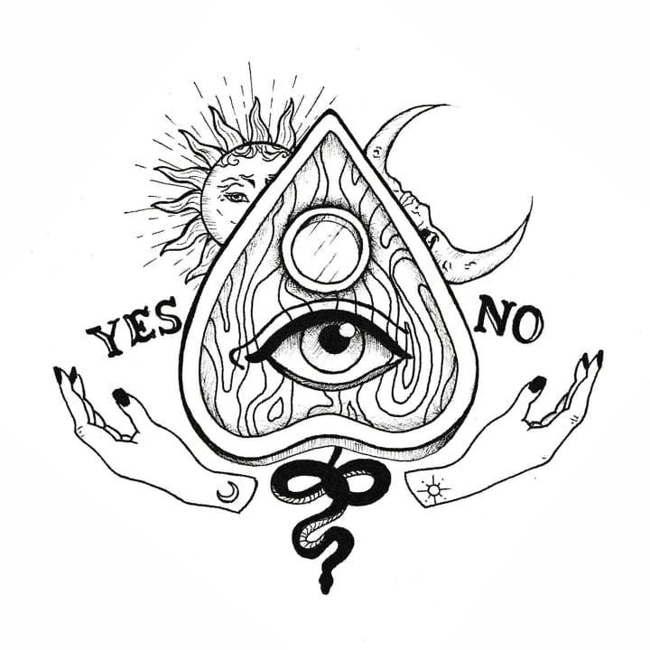 could put something like this in ditch next to hand tattoo