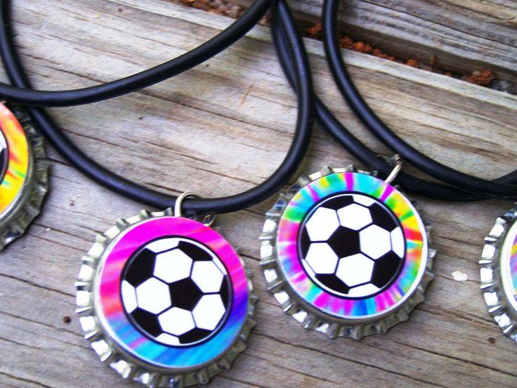 Soccer Club Team Boys Girls Kids Sleepover Teens Swap Party Favor Rubber Bracelet 12pk. $12.00, via Etsy.