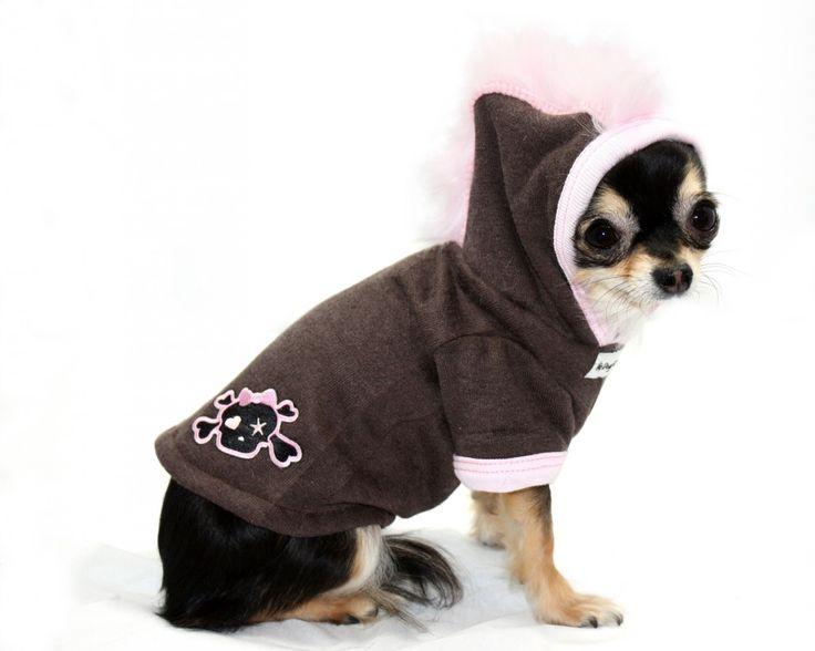 Best Friends World - Hip Doggie Pink Skull Mohawk Hoodie, €25.00 (http://www.bestfriendsworld.ie/hip-doggie-pink-skull-mohawk-hoodie/)
