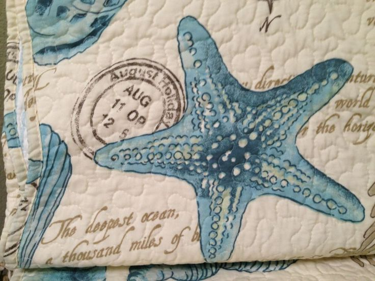 12 best Bedding images on Pinterest | Bed linen, Bed duvets and ... : starfish quilt - Adamdwight.com