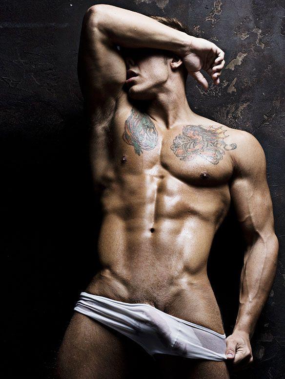 Sexy underwear model WOW