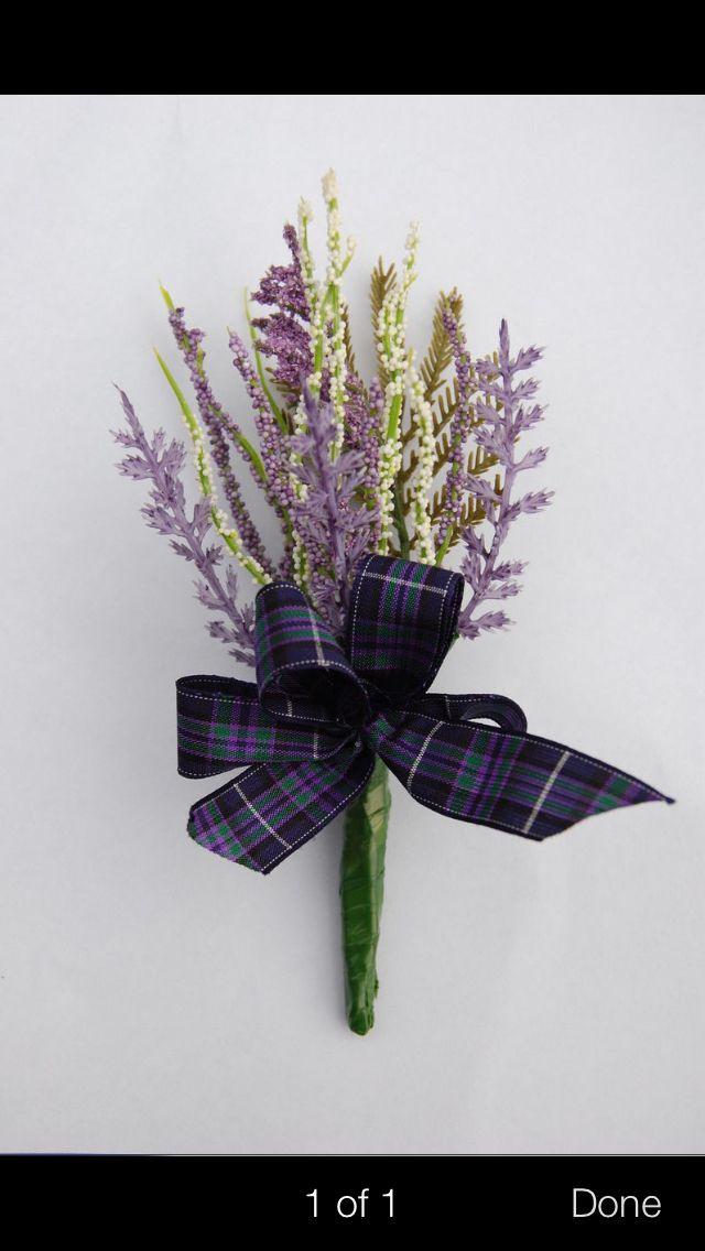Pride of Scotland tartan and heather