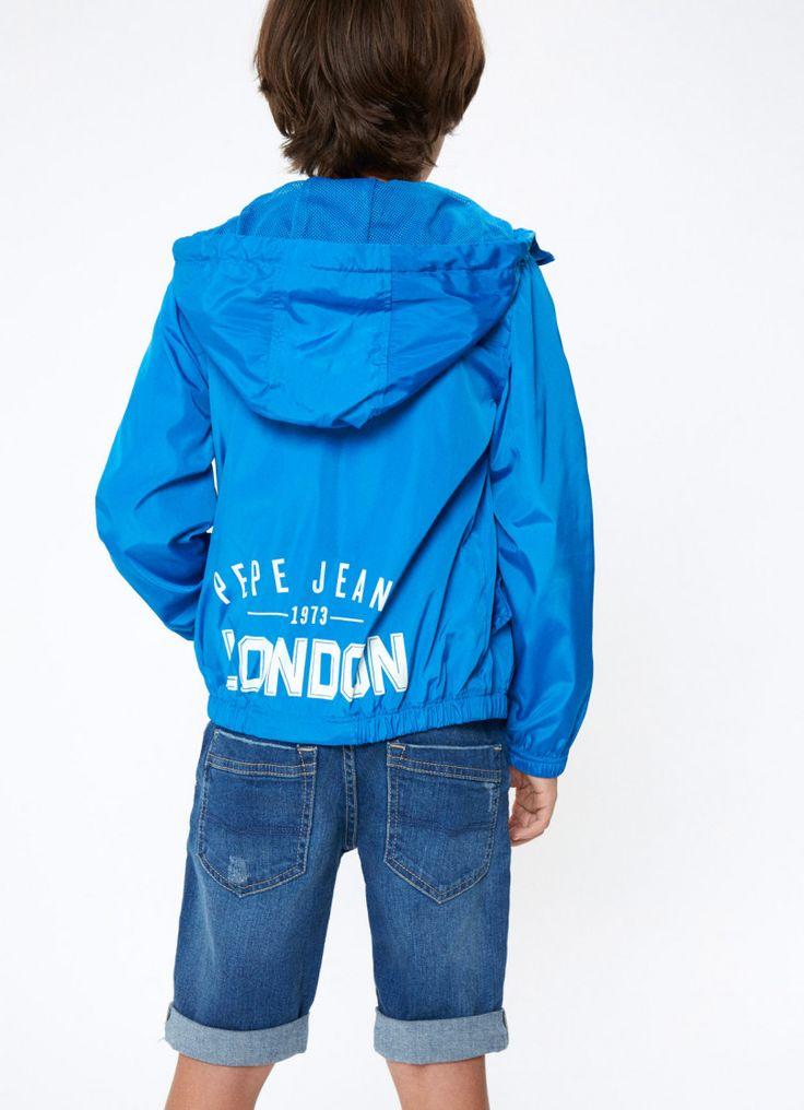 HOODED WINDBREAKER 'CRISTIAN' | BOY | Pepe Jeans London