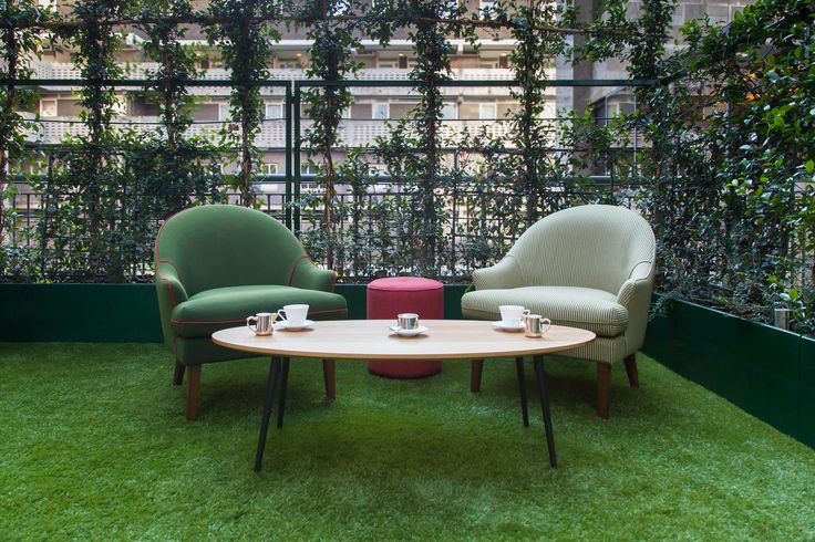 Therese Outdoor Arm Chairs