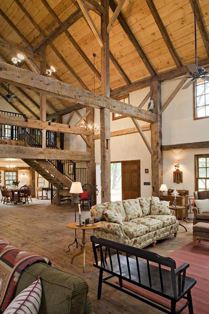 Another view of stone barn house. Charleston barn