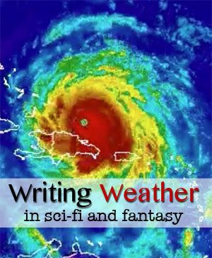 Expert Candida Spillard discusses clouds, storms, and other aspects of weather for world-building in sci-fi and fantasy