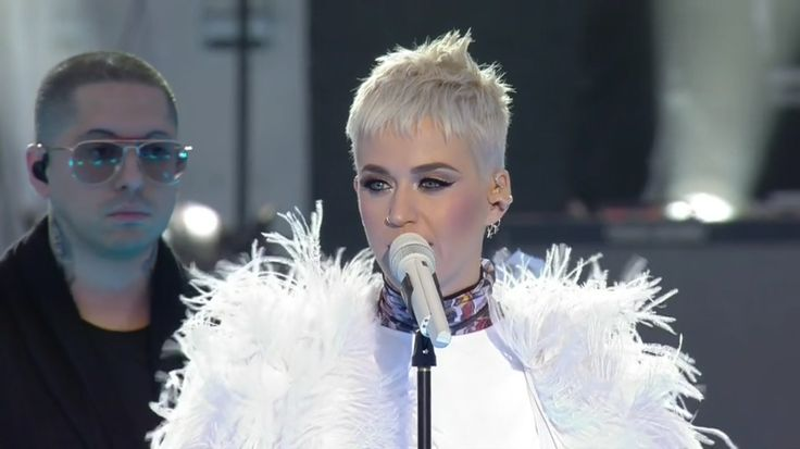 Katy Perry at Manchester live.