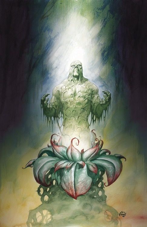 Swamp Thing by Eric Powell
