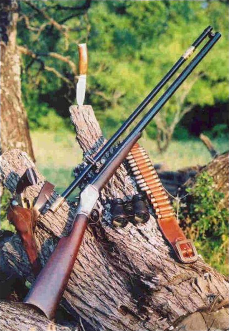 """Vintage-firearms. Looks like the rifle is from, """"Quigley Down Under."""""""