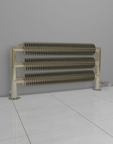HOTHOT radiator Retro Revolution ST: The self-standing radiator in retro style with a massive floor mounting. It is the right choice for big spaces.