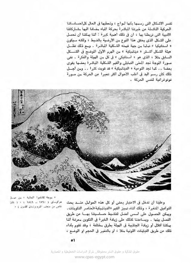 اسس التصميم كتاب مترجم لــ روبرت جيلام سكوت Art Artwork Great Wave