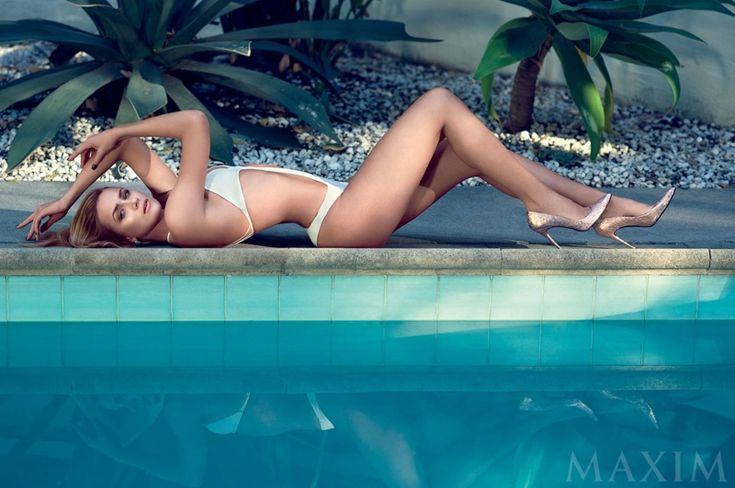 'THE MESSENGERS' SHANTEL VANSANTEN POSES IN SWIMSUITS FOR MAXIM FEATURE