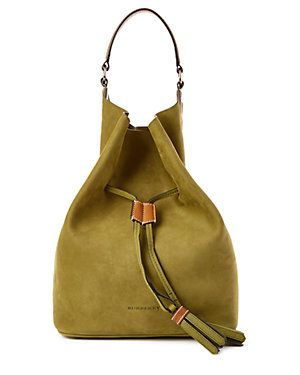 Burberry Ashby Large Suede Hobo