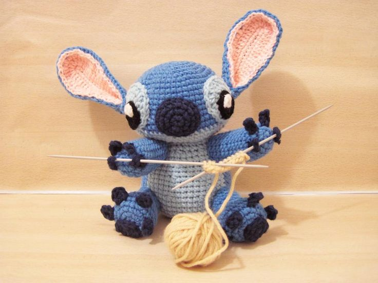 Amigurumi Stitch! via Craftsy