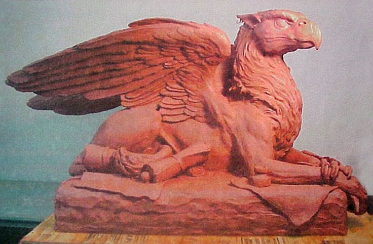 Griffin sculpture.  Gallery - Kim Beaton Studios