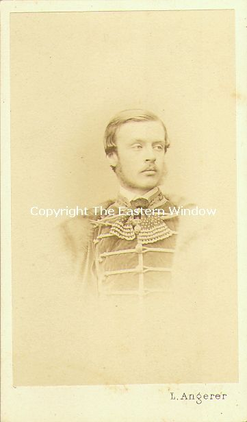 Perhaps Paul IV, 10 Fürst Esterhazy von Galantha (1843-1898)   Son of Nicolaus, 9 Fürst Esterhazy von Galantha and Lady Sarah Child-Villiers. In 1868 he married Grafin Marie von und zu Trauttmansdorff-Weinsberg and in 1879 Prinzessin Eugenie von Croy.