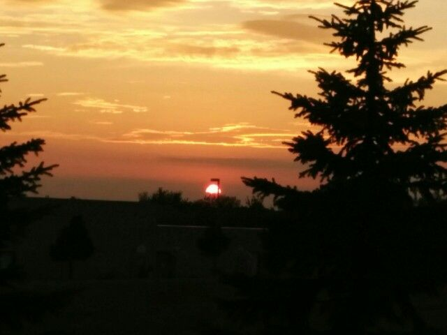 Beautiful Sunset View From My Patio.