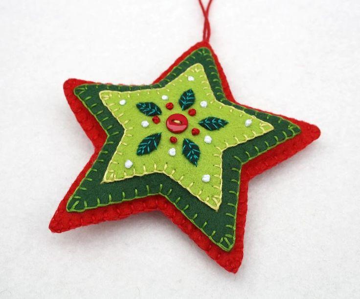 1000 Ideas About Felt Ornaments Patterns On Pinterest