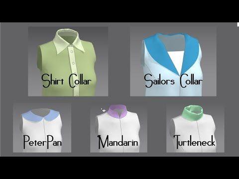 Modeling Collars in Marvelous Designer - YouTube