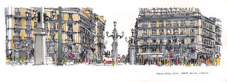Puerta del Sol, Madrid. Jacobo Pérez-Enciso