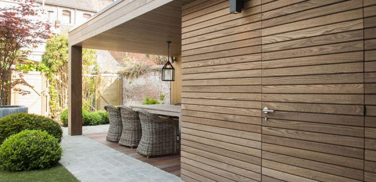 Gevelbekleding ThermoWood - Tablazz Interieur- en exterieur parket