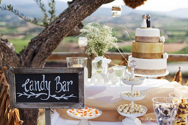 Sweet emotion: La boda de Marino y Sandra (I) Candy bar, dessert table, mesa de dulces