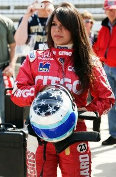 Milka Duno won the Miami Grand Prix in 2004, becoming the first woman to win a major international sports car race in North America. In 2007, she placed second in the 24 Hours of Daytona, the highest finish for a woman in the history of the race. She's also a naval engineer with four master's degrees.