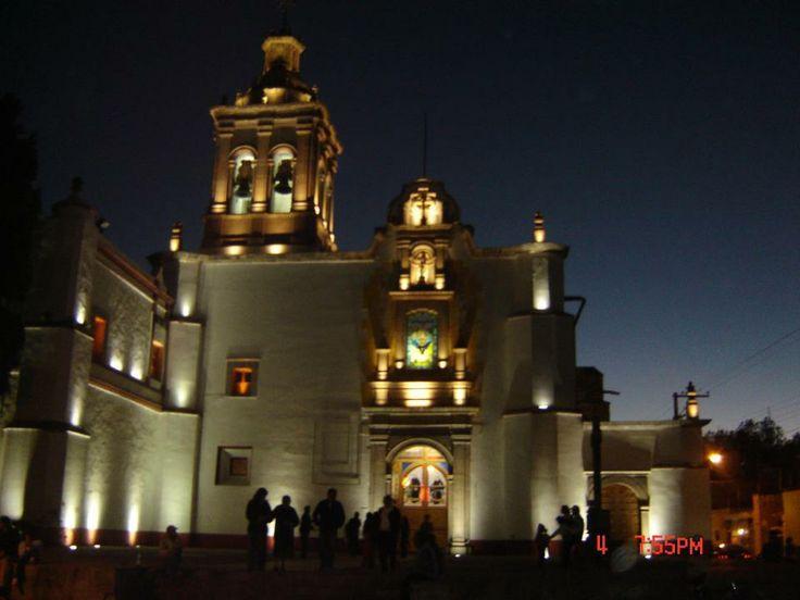 Santuario de nuestra Señora del Pueblito, En Corregidora Querétaro, México.