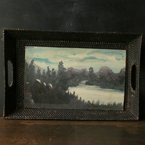 Landscape Painting Folk Art now featured on Fab.