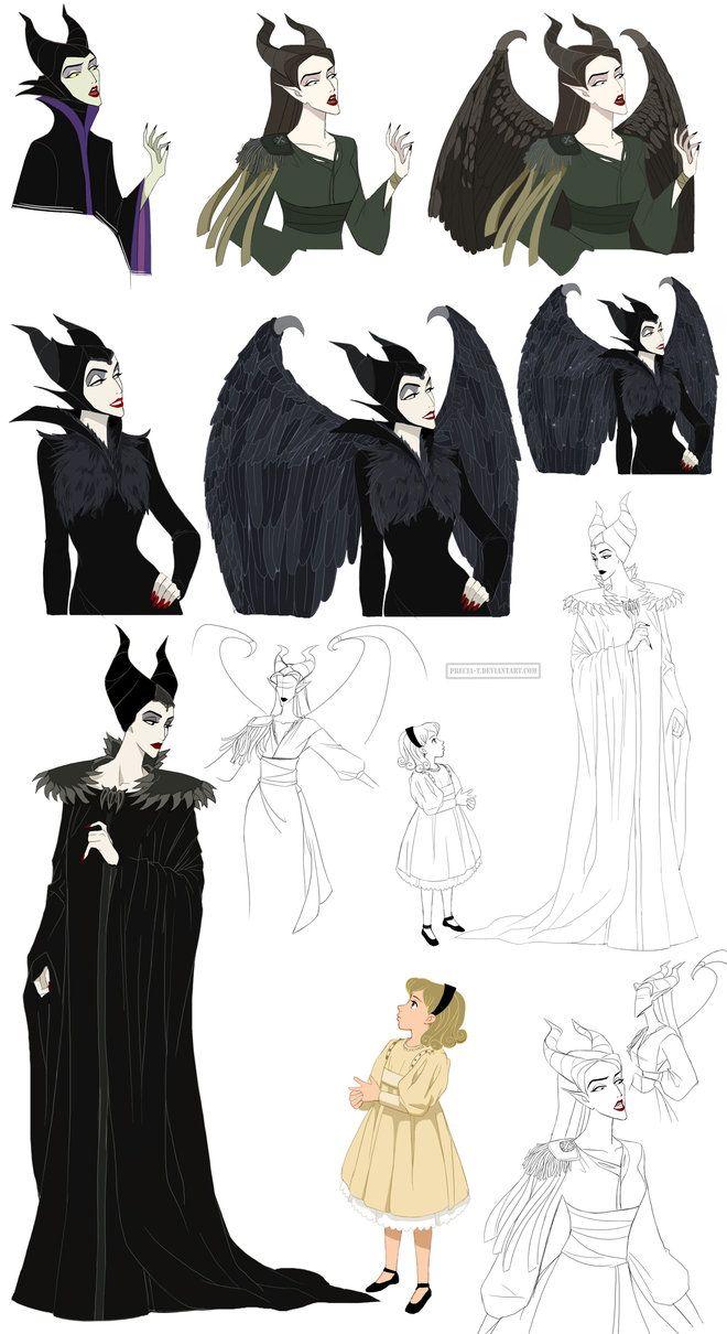 Maleficent Jolie by Precia-T on deviantART