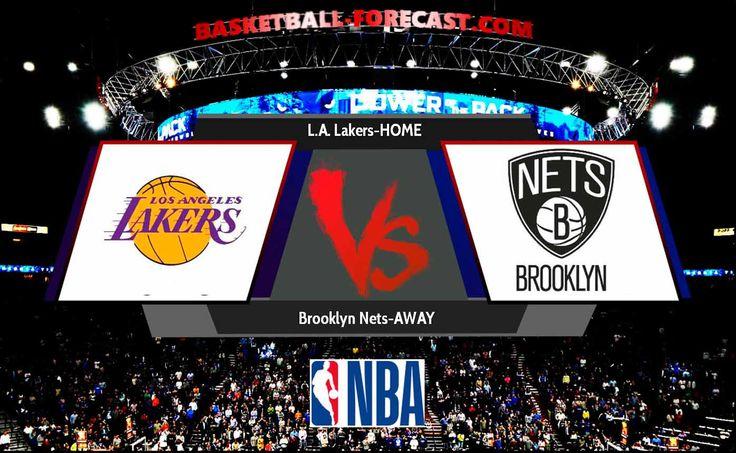 L.A. Lakers-Brooklyn Nets Nov 3 2017 Regular Season Will Brooklyn Nets win in the match L.A. Lakers-Brooklyn Nets Nov 3 2017 ? In the previous 8 performances Brooklyn Nets has won 3 games while In the previous 8 performances L.A. Lakers scored 5 knockouts.   #_Jr. #basketball #bet #Brandon_Ingram #Brook_Lopez #Brooklyn #Brooklyn_Nets #Caris_LeVert #D'Angelo_Russell #DeMarre_Carroll #forecast #Jordan_Clarkson #Kentavious_Caldwell-Pope #Kyle_Kuzma #L.A._Lakers #Larry_Nance