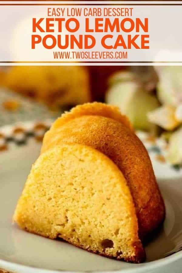 This Keto Lemon Pound Cake Might Be One Of The Most Crave Worthy Cakes You Ve Ever Had And B In 2020 Lemon Pound Cake Recipe Low Carb Recipes Dessert Lemon Pound
