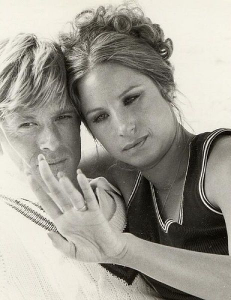 Robert Redford and Barbra Streisand. Taken from The Way We Were, one of my all time favorite movies!