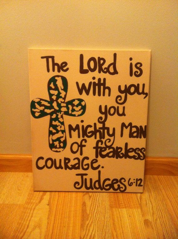 Bible Verse Canvases