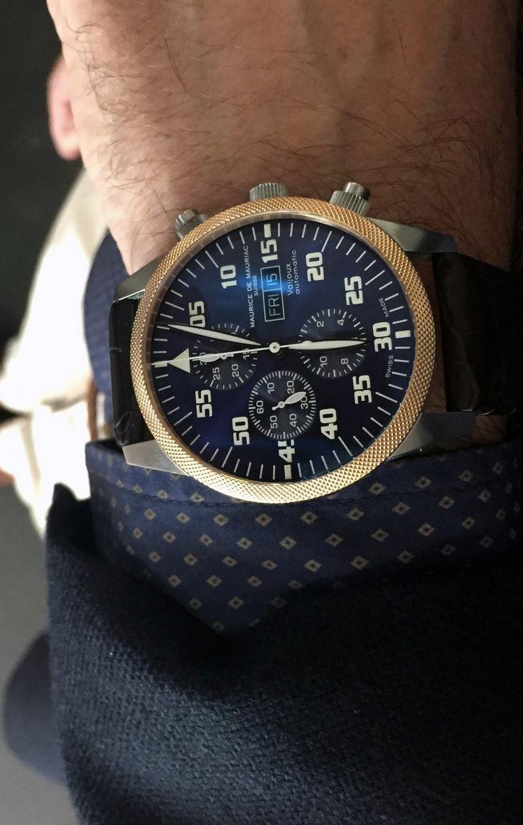 Bespoke Maurice de Mauriac watch. Luxury handmade watches for men and women.