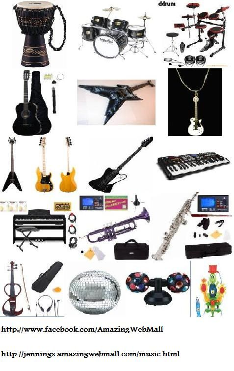 Top Holiday Deals in Musical Instruments and Equipment.