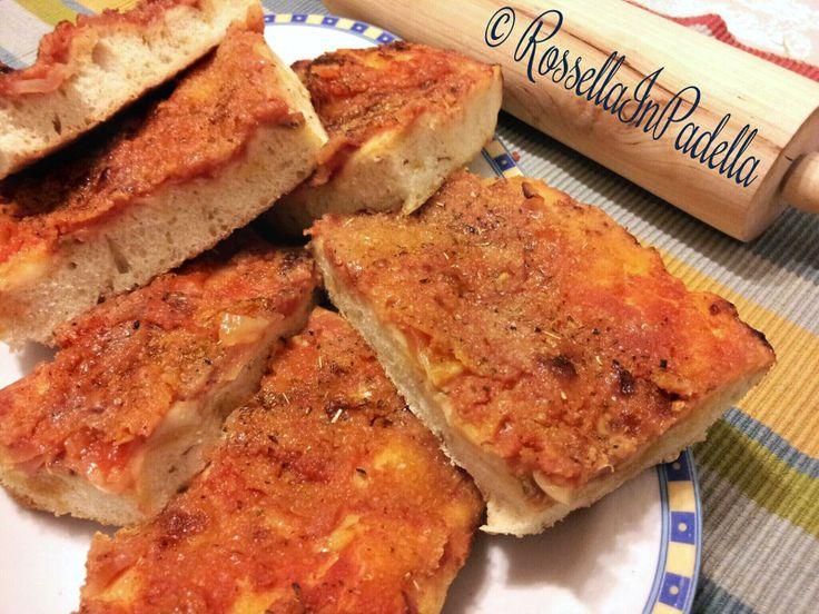 Pizza palermitana o Sfincione siciliano