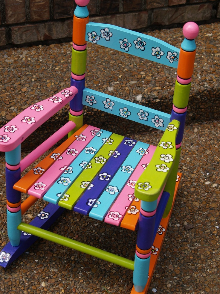 Want to rock in the cutest rocking chair.